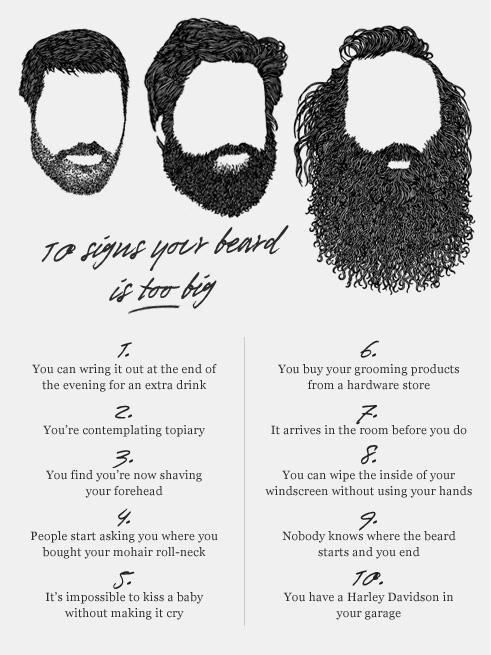 beardblog.se för långt skägg