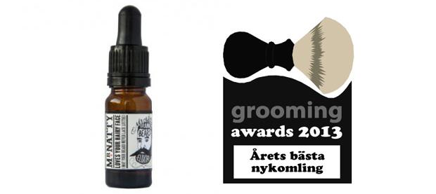 beardblog.se grooming awards 2013 nykomling bild