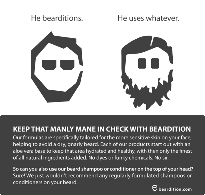 use beardition