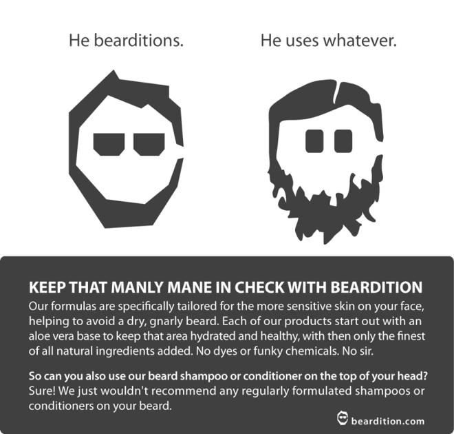 use beardition