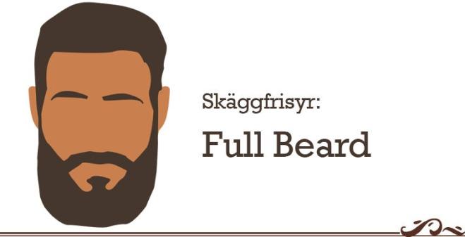 skäggfrisyr full beard
