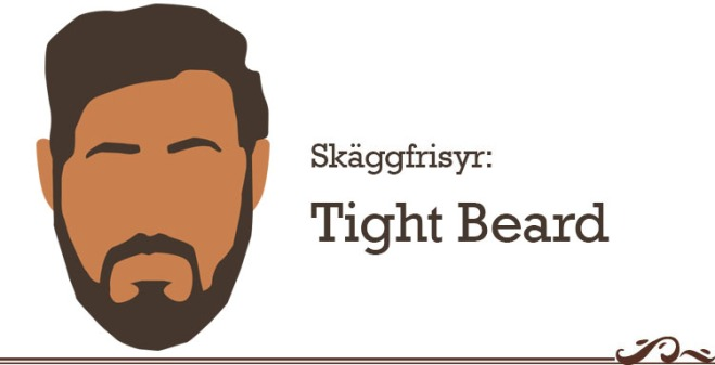 tight beard