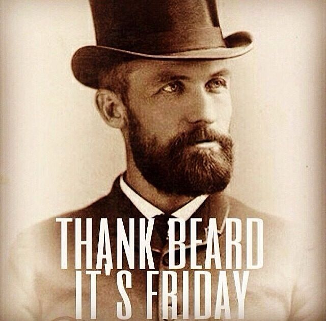 friday beard