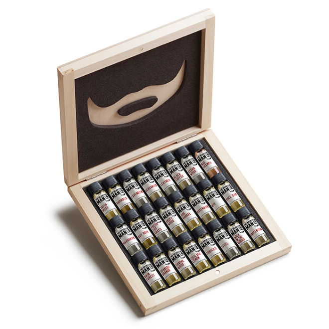 the bearded man company 24 samples kit