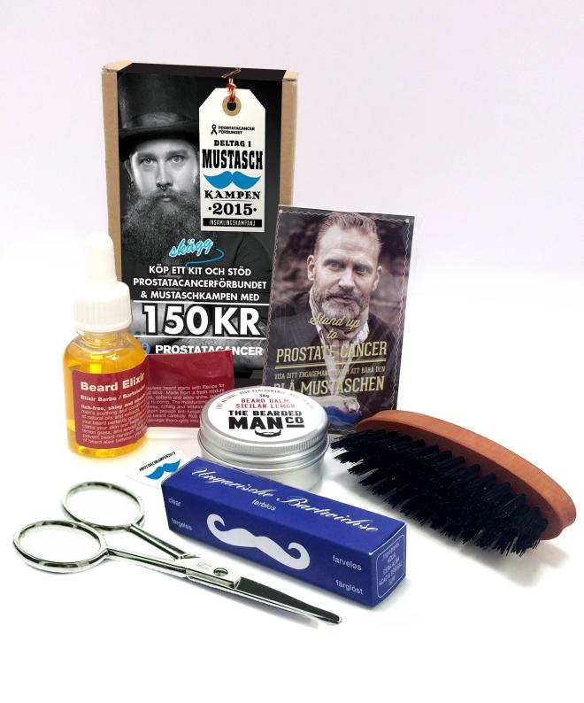 skäggvårdskit mustaschkampen